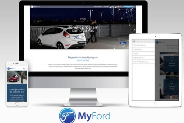 Ford aplikacija
